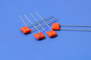 Image 3 - (200 шт./лот) 33nF 100 V MKT металлизированный полиэфирный пленочный конденсатор, 0,033 мкФ.