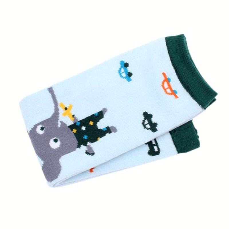 Cartoon Pattern Baby Socks Cotton Warm Kneepad Protection Leg Kids Warmers