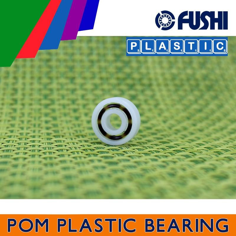 POM Bearing 603 604 605 606 607 608 609 ( 5 PCS ) Glass Balls Nylon Cage Plastic Ball Bearings 50pcs pom plastic bearings 608 with glass balls 8x22x7 mm nylon bearing