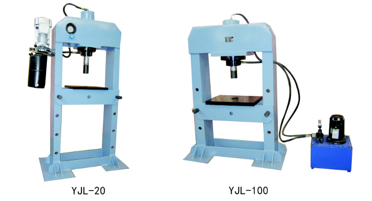 YJL 100 electric hydraulic press machine shop machinery tools