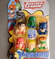 6 pz/set Pacchetto Regalo ragazzi cieco bag Avenger Fashems MASHEMS. Batman Justice League ragazze pet shop regalo cane animali d21