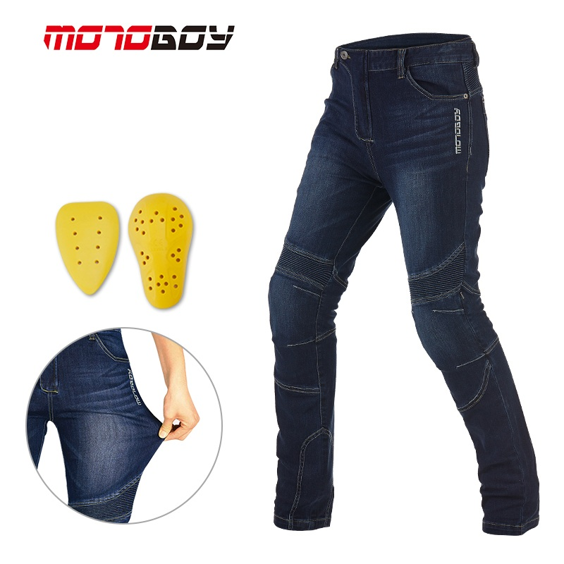 MOTOBOY Featherbed Jeans Jeans Men s Motorcycle jeans motorbike mountain buggy ATV locomotive protective pants