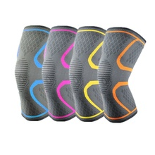 Yuntab Knitting sports activities knee pads gentle protecting gear outside operating basketball using mountain breathable knee