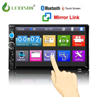 Car auto radio Bluetooth Audio 7 inch 2 din Touch Screen Stereo Car MP3 MP5 Player USB/FM/AUX/SD NEW Mirror Link No CD/DVD & GPS