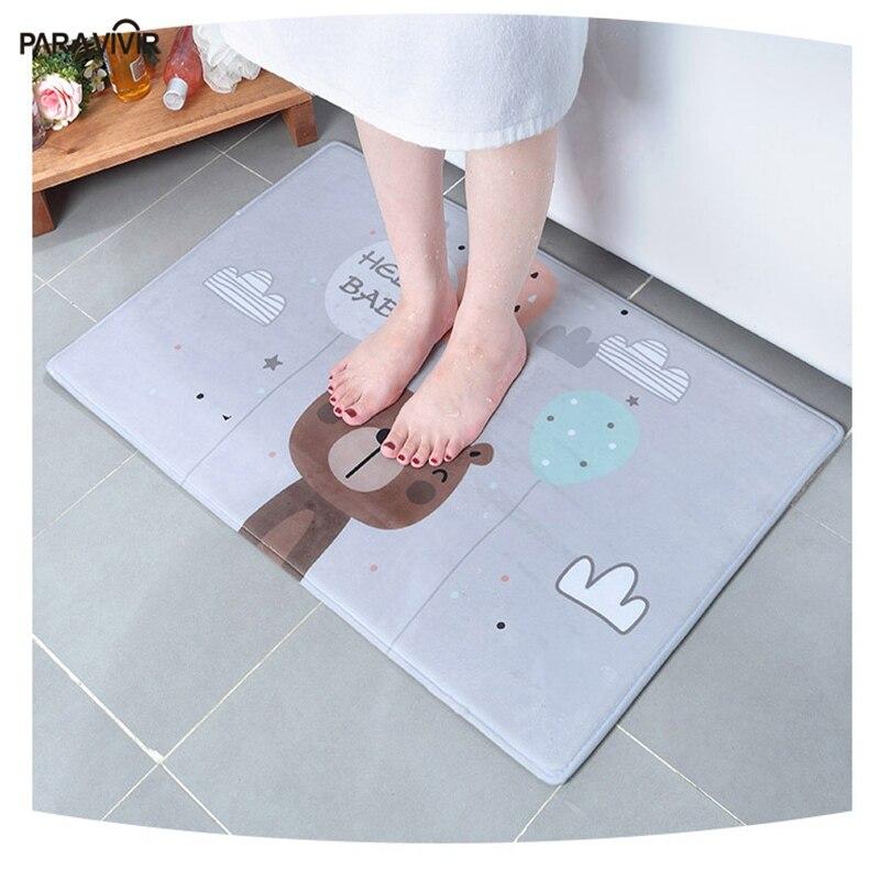 New Arrival Floor Mat Cartoon Dogs Soft Anti-slip Kitchen Carpet Machine Washable Bath Mat Doormat Home Decor tapis de cuisine 1