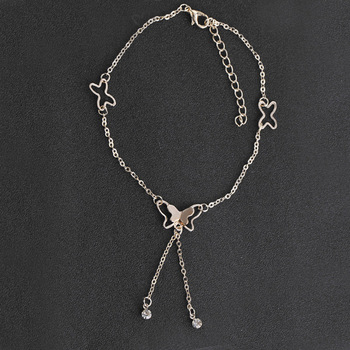 Atreus Butterfly Pendant Anklet 1