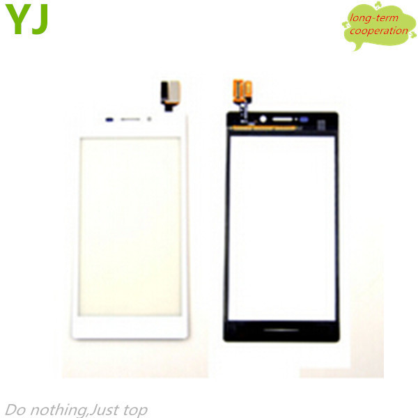 OEM Touch Screen Digitizer Replacement for Sony Xperia M2 D2303 / M2 Dual D2302 - White/Black