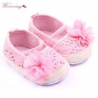 Newborns Baby Girl Shoes Infants Spring Summer Flo ...