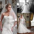 JAEDEN Hot Sale Elegant Cheap New Two Layers Light Ivory Veils Satin Cathedral Length Wedding Bridal Veil