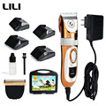 Pelo de Perro Podadoras 2016 productos para mascotas 60 W eléctrico pet cat dog hair trimmer clipper mascota profesional LILI zp-293