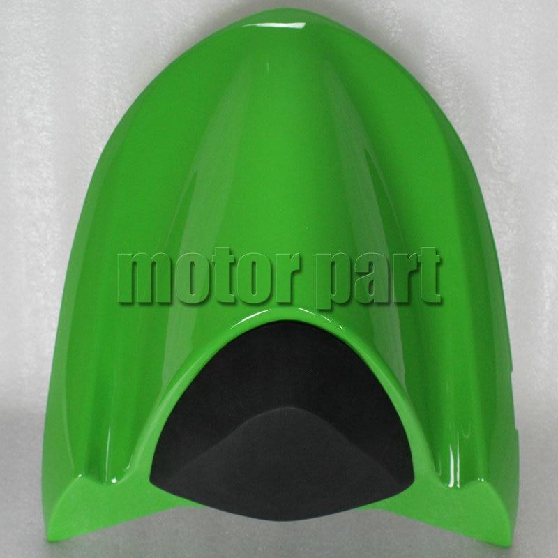 For 2004-2005 Kawasaki Ninja ZX10R ZX 10R ABS Motorcycle Rear Passenger Seat Cover Cowl 04 05 Green for 2009 2014 kawasaki zx6r zx 6r 636 motorcycle rear passenger seat cover cowl green black 09 10 11 12 13 14