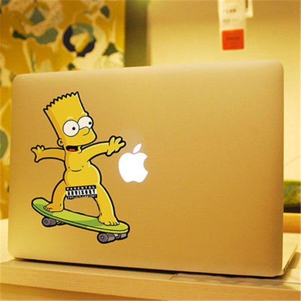 Bart simpson skateboarding naked not