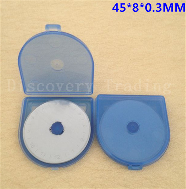 100 Pack 45mm Rotary Cutter Blades fits Olfa and more