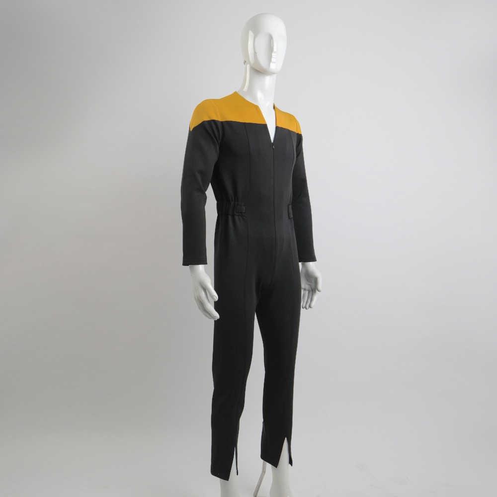 Star Trek The Next Generation Captain One-piece Halloween Cosplay Costume US