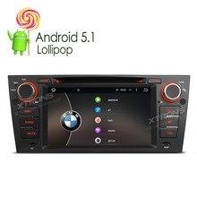 7″ Android 5.1 Car DVD Player radio 1024*600 GPS Navigation Stereo Full RCA Output & Screen Mirror OBD2 For BMW E90/E91/E92/E93