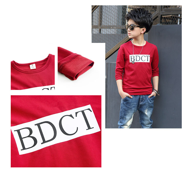 fashion casual pink green black striped o-neck t shirt for boys long sleeve t shirt kids boy tee tops clothes new 2017 spring autumn teenage boys clothing 6 7 8 9 10 11 12 13 14 15 16 years old little teenage big boys t shirt long sleeve (13)