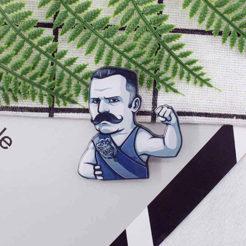 Gratis Pengiriman 1 Pcs Lukisan Kartun Campuran Kerangka untuk Pakaian Akrilik Lencana Kawaii Ikon Di Ransel Pin Bros Lencana z3