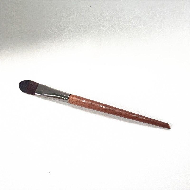 MEDIUM CONCEALER PINSEL 176-Flache Spitzen Präzision Foundation Concealer Pinsel-Schönheit make-up pinsel Mixer
