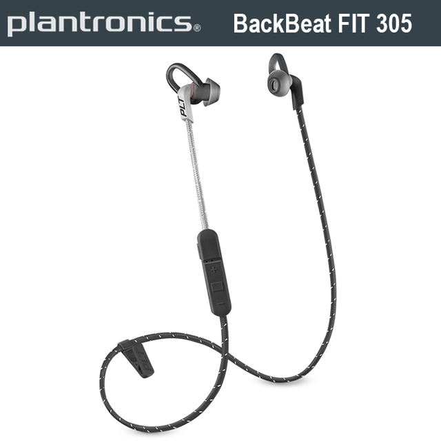 0a79fb0d3f4 Plantronics BackBeat FIT 305 Bluetooth Wireless Fashion Stereo Earphone  Inline control Sweat Moisture Protection For Sport Run