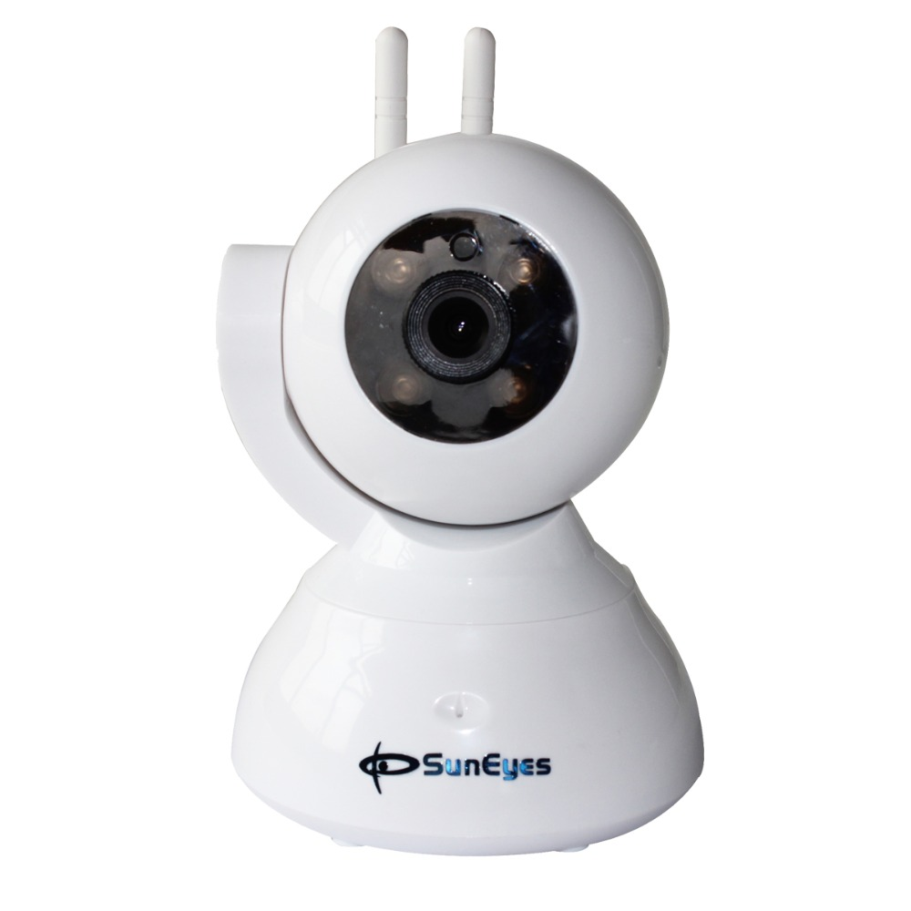 SunEyes SP-S702WA 720P HD P2P IP Alarm Camera Wireless Wifi Two Way Audio Support 433HZ Alarm Devices One Key Setup hd 720p support alarm accessory wireless ip camera