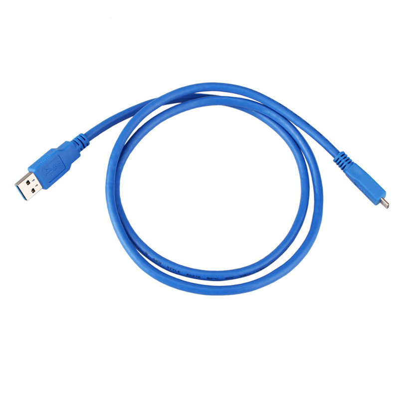 High Quality 1M USB 3.0 Type A Male to Micro B Male Extension Cable Data Transfer Cord Adapter Computer Cable Super Speed насос al ko hw 4500 fcs comfort