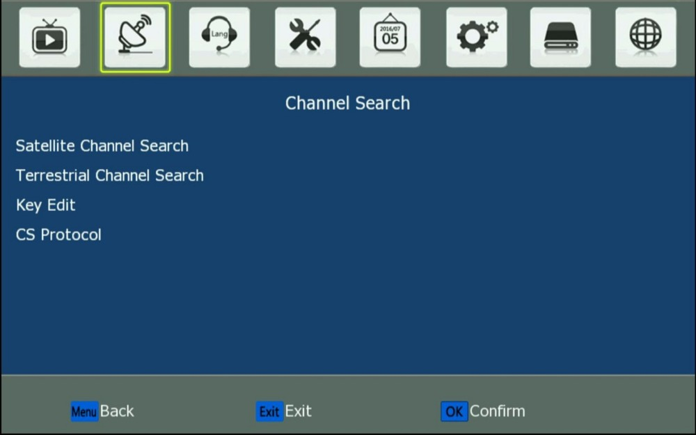 02. Channel Search -