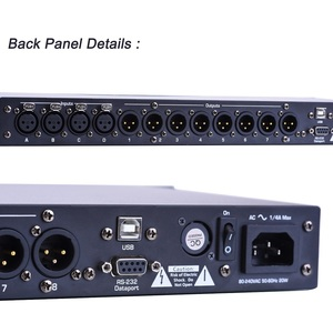 Image 4 - 4in 8out Audio Sound Processor DSP Digital Signal Processors Tulun Play 4.8SP
