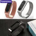 Femperna Strap For Xiaomi Mi Band 2 Metal Replacement Strap For Xiaomi 2 Wristband Silicone Strap Belt for Miband 2 Bracelet