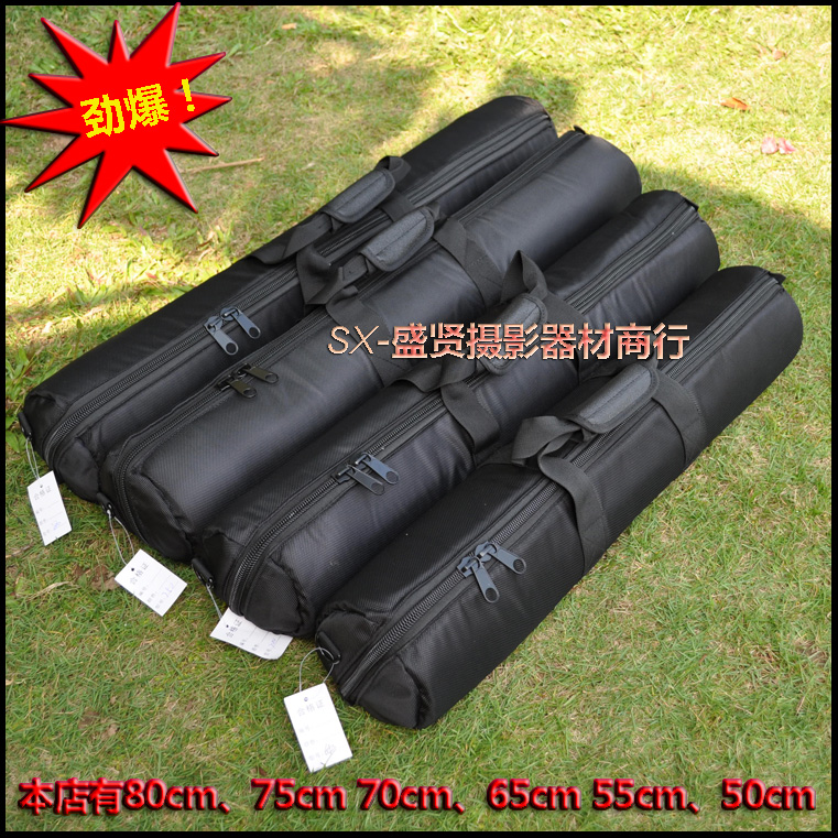Tripod bag 40cm 50cm 55cm 60cm 65cm 70cm 75cm 80cm 100 120cm Padded Strap Camera Tripod Carry Bag Travel Case For Velbon SLR shockproof dustproof camera tripod carry bag