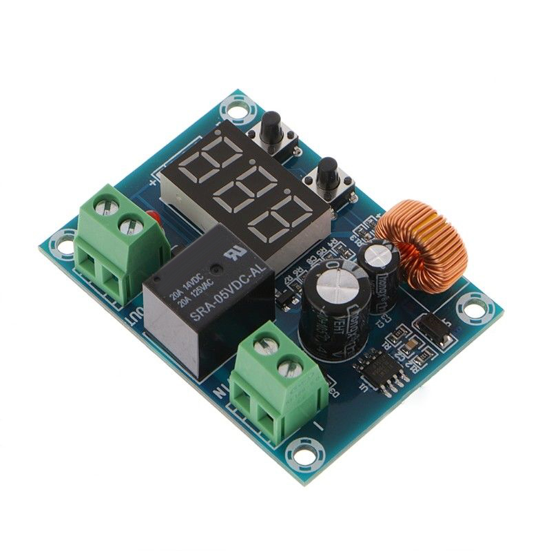 Board Battery Protection Module 57*42*19mm 12-36V Over-discharge Low Voltage Disconnect Protection Output Fine
