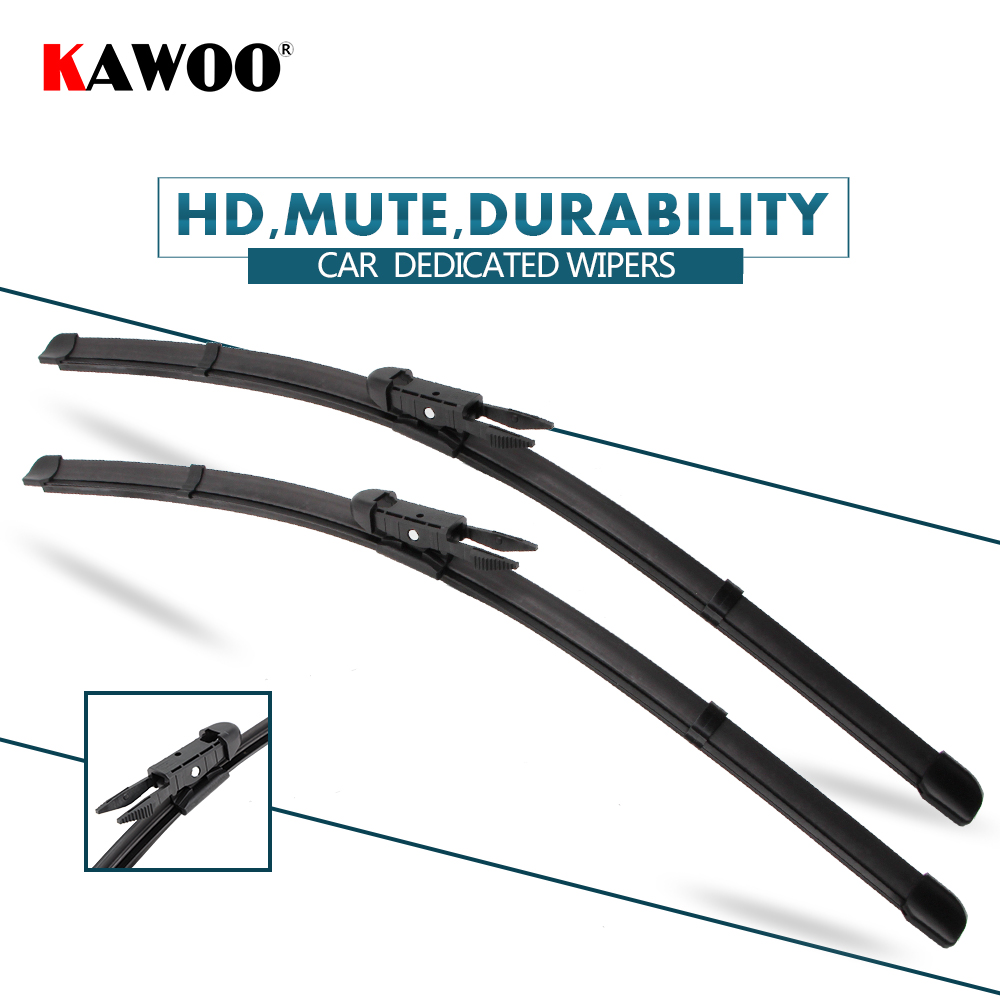 KAWOO 2pcs Car Wiper Blade 22+22 For Cadillac Escalade ESV,(2005-2011)Auto Soft Rubber Windcreen Wipers Blades Car Accessories
