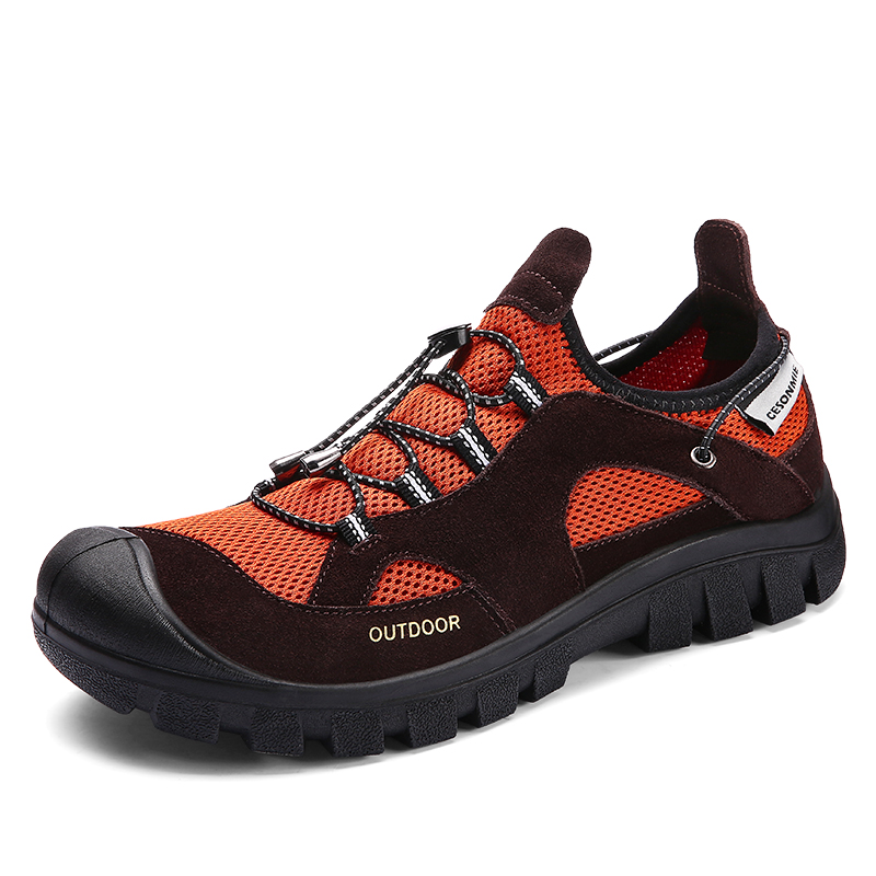 2019 Men s Summer Outdoor Hiking Trekking Shoes Sneakers For Men Sports Hikes Trousim Travel Mountain
