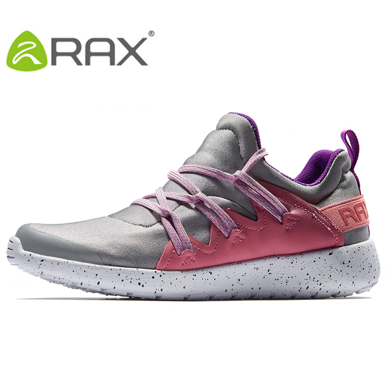 RAX 2017 New Womens Sports Life Walking Shoes Leisure Breathable Sneakers Light Sports Shoes For Women Outdoor Shoes