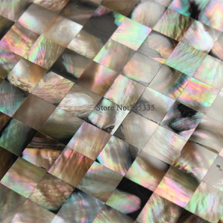 Naturalne Penguin Powłoki Masa Perłowa Mozaika Backsplash
