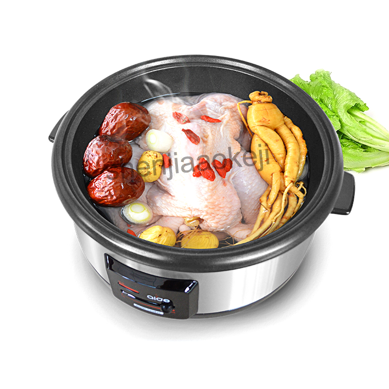multi-function non-stick household cooking hot pot hot pot Cooking pan Cookware Commercial electric hot pot 6L 220v 1600w 1pc все цены