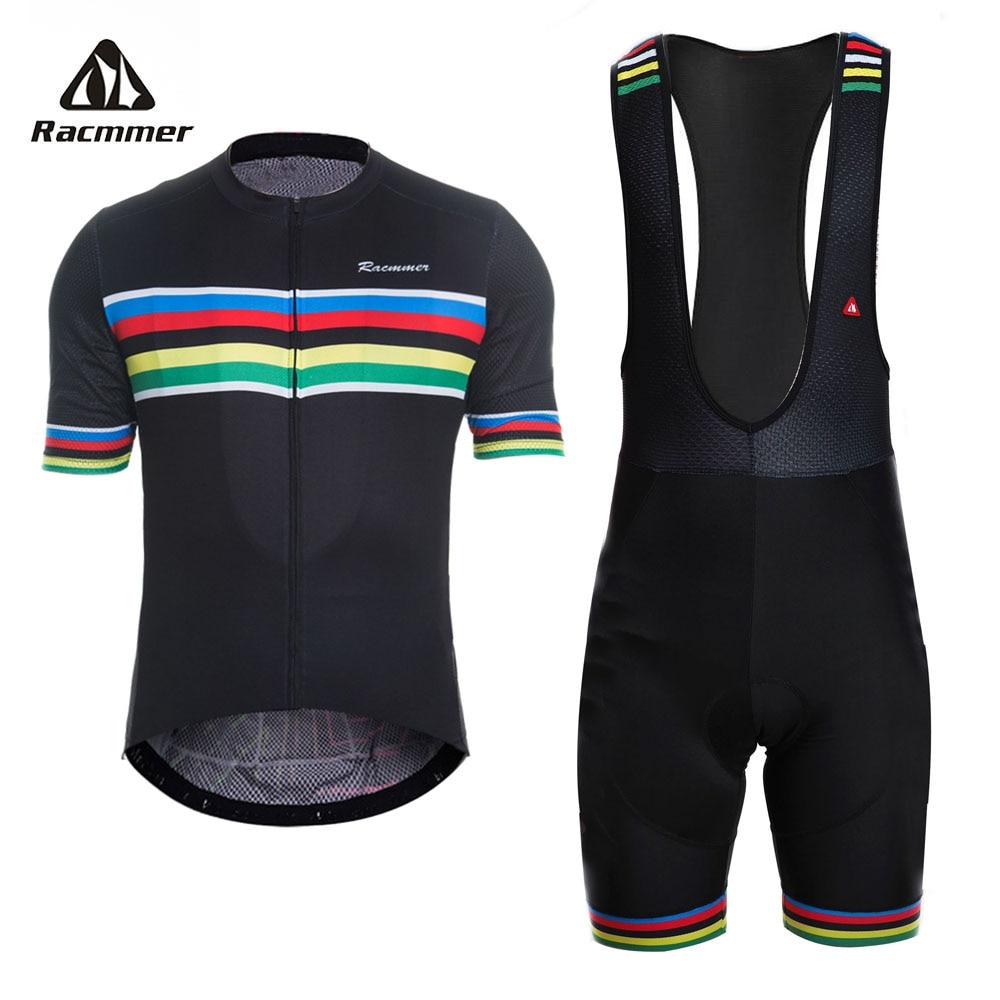 Racmmer 2019 set Camisa de Ciclismo PRO TEAM Bicicleta AERO Conjunto Ropa ciclismo Maillot Roupas de Ciclismo Conjunto Roupas Bicicleta Verão