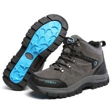 Outdoor Hiking Trekking Boots Waterproof Boot Brand Men Sport Shoes Mountain Climbing  canvas fishing shoes Hiking Shoes Boots
