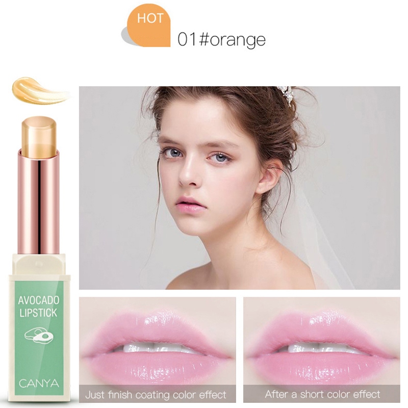 Jelly waterproof Lip Balm long-lasting non-stick cup lip Moisturizer lipstick women changing color plant lipstikcs cosemtic 4
