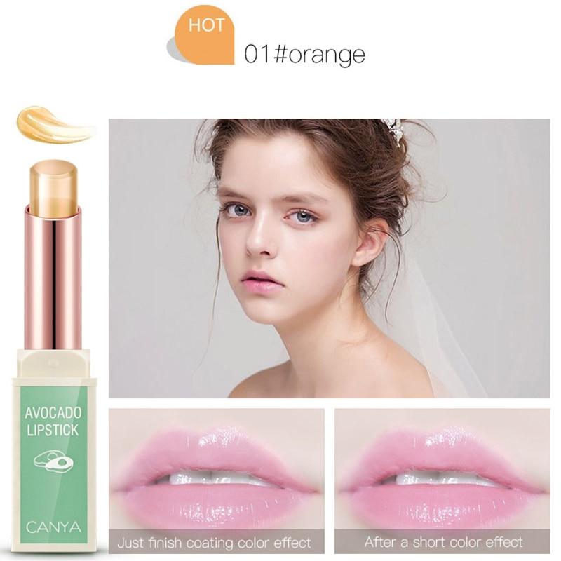 Jelly waterproof Lip Balm long-lasting non-stick cup lip Moisturizer lipstick women changing color plant lipstikcs cosemtic 4