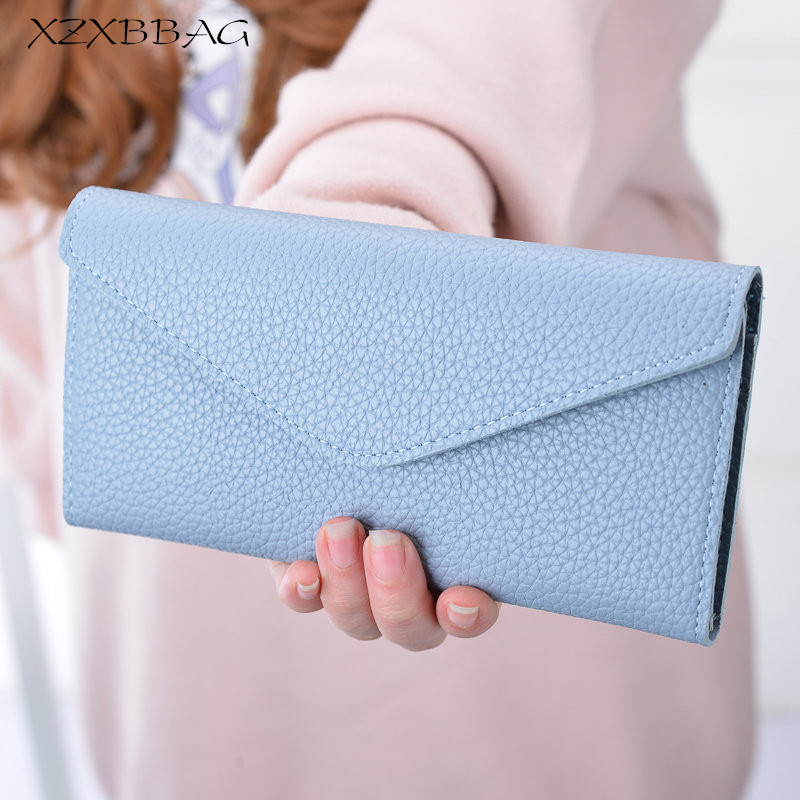 XZXBBAG New Fashion Women 3 Fold Hasp Wallet Unique Design Litchi Grain Lady Handbag Female Coin Purse Multiple Card Holder casual weaving design card holder handbag hasp wallet for women