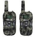 2 pcs crianças walkie talkie rádio crianças camuflagem rt33 8ch 0.5 w pmr446mhz freqüência portátil de digitalização retevis vox ctcss/dcs a9117