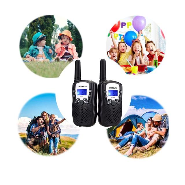 2 x Mini Walkie Talkie Radios