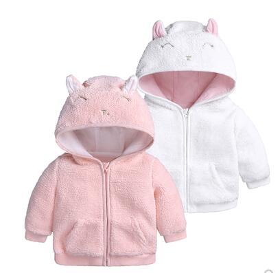 2019 Frühling Und Herbst Kleinkind Jungen Mantel & Jacken Für Casual Baby Mädchen Kleidung Schöne Mantel Lammfell Baby Mantel