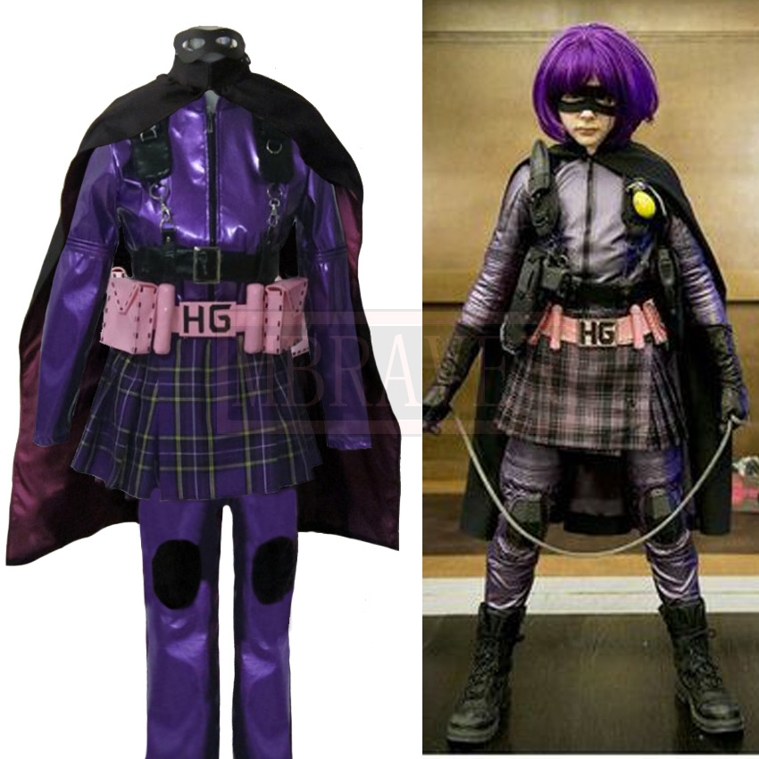 Kick Ass Mindy Macready Cosplay Hit Girl Cosplay Costume Custom Made Any Size