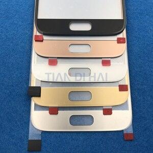 Image 4 - 1 adet ön dış cam Lens ekran Samsung Galaxy S7 G930 G930F S6 G920 G920F dokunmatik ekran paneli değiştirme