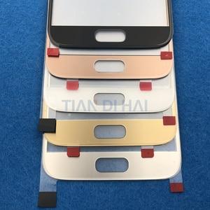 Image 4 - 1 pièces avant écran de lentille en verre extérieur pour Samsung Galaxy S7 G930 G930F S6 G920 G920F remplacement de panneau décran tactile