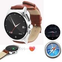 Bluetooth наручные Смарт часы сердечного ритма Мониторы шагомер компас Экран touch Для мужчин Для женщин Обувь для мальчиков Обувь для девочек для Android IOS смартфонов