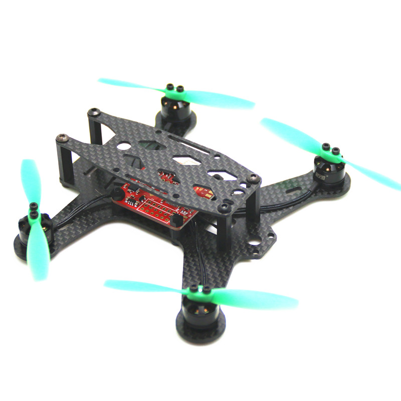 DIY Mini QAV130 ZMR130 RC FPV 130mm Wholesale Carbon Fiber Board Plate Mini Quadcopter Frame for 130 Micro Racing Quadcopter carbon fiber frame diy rc plane mini drone fpv 220mm quadcopter for qav r 220 f3 6dof flight controller rs2205 2300kv motor