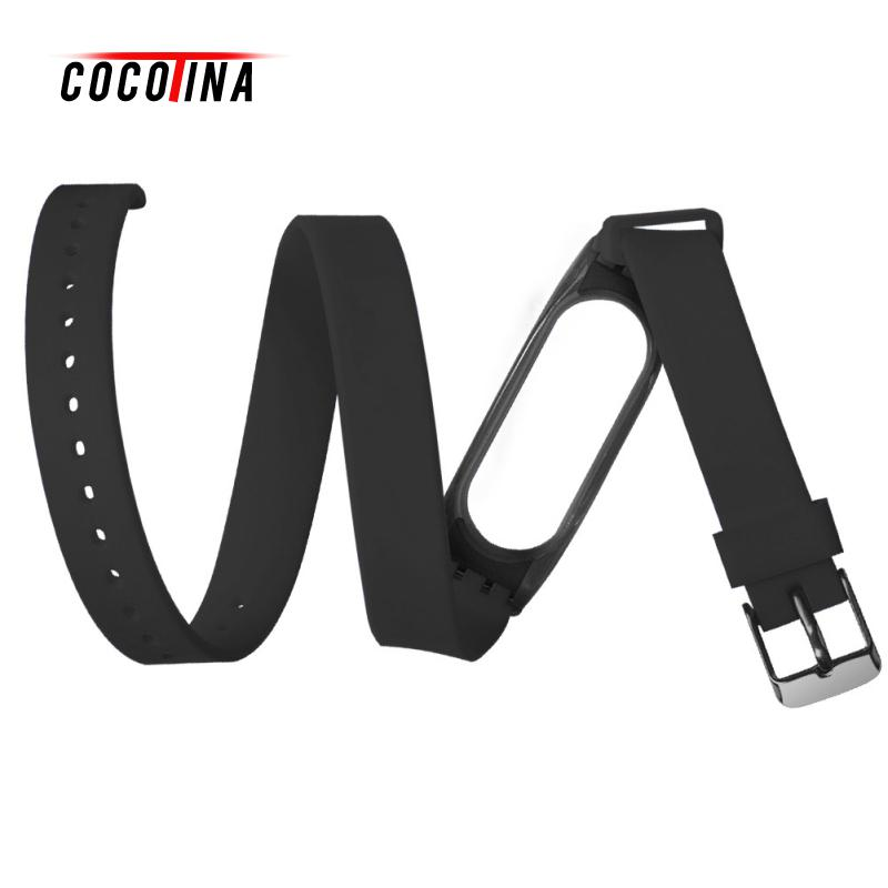 COCOTINA Smart Wristband Bracelet Replace Accessories Silicone Replacement Strap Belt For Xiaomi Mi Band 2 LBD5454 jansin 22mm watchband for garmin fenix 5 easy fit silicone replacement band sports silicone wristband for forerunner 935 gps