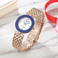 Geneva Watch Women Stainless Steel Watch For Women Stylish Japan Quartz Waterproof Girls Clock Relojes Para Mujer Drop Shipping